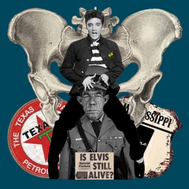 Elvis|CollagedeGabriel Aranguren| Compra arte en Flecha.es