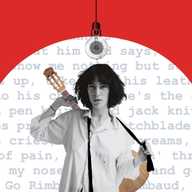 Patty Smith|CollagedeGabriel Aranguren| Compra arte en Flecha.es