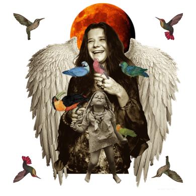 Janis Joplin|CollagedeGabriel Aranguren| Compra arte en Flecha.es