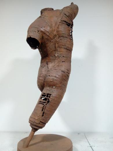 EL LANZADOR|EsculturadePablo Rebollo Pérez| Compra arte en Flecha.es