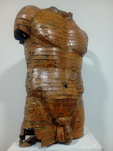 TORSO ALQ-330|EsculturadePablo Rebollo Pérez| Compra arte en Flecha.es