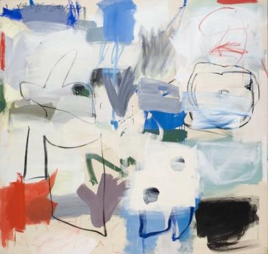 Blue Forest|PinturadeEduardo Vega de Seoane| Compra arte en Flecha.es