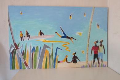 Océano Índico 1|PinturadeMiguel Costales| Compra arte en Flecha.es