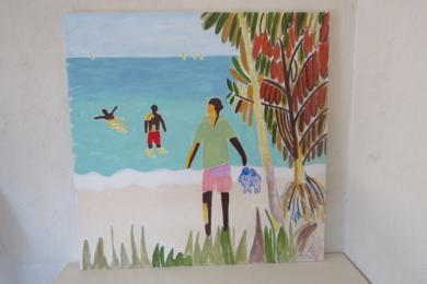 Océano Índico 2|PinturadeMiguel Costales| Compra arte en Flecha.es