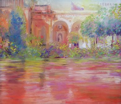 AIRE CALIDO|PinturadeMaria Bejarano| Compra arte en Flecha.es