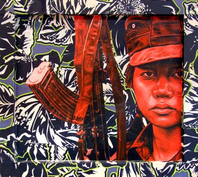 Karen transparente|PinturadeSilvia Viana| Compra arte en Flecha.es