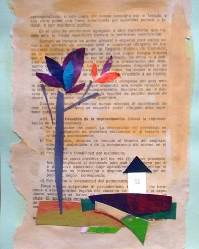 Otoño|CollagedeANALIA MALOSETTI| Compra arte en Flecha.es