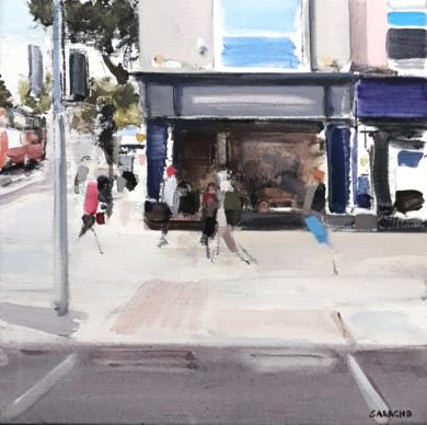Corner in Dublin|PinturadeSaracho| Compra arte en Flecha.es