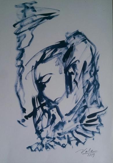 Raucherin|DibujodeGabriel José Vale| Compra arte en Flecha.es