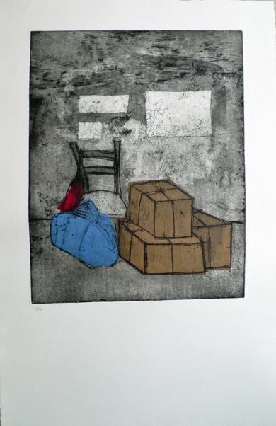 Sus cosas|Obra gráficadeAna Valenciano| Compra arte en Flecha.es