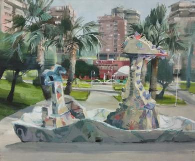 Dragones|PinturadeLeticia Gaspar| Compra arte en Flecha.es