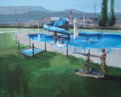 Verano|PinturadeLeticia Gaspar| Compra arte en Flecha.es