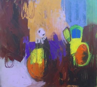 Out of Time|PinturadeFrancisco Santos| Compra arte en Flecha.es