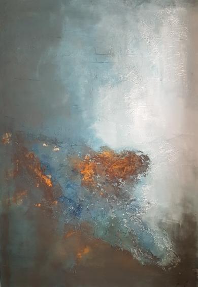 CRATER|PinturadeMaribel Martin Martin| Compra arte en Flecha.es