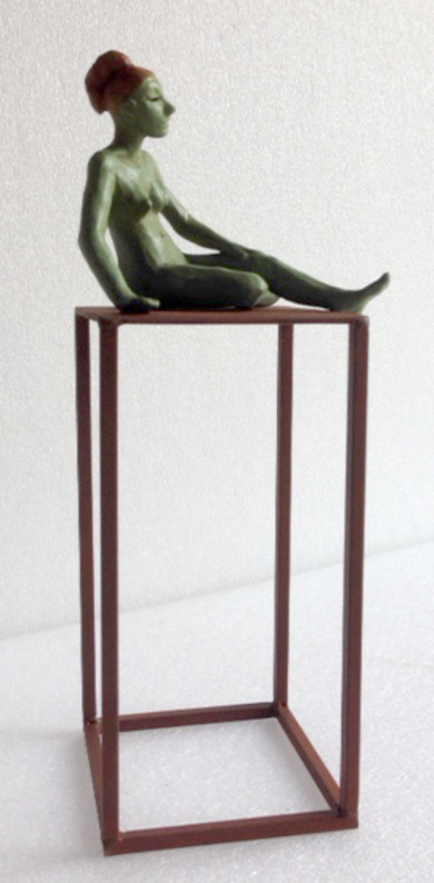 Contemplación|EsculturadeCharlotte Adde| Compra arte en Flecha.es