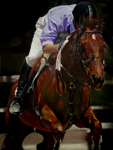 Salvando obstáculos|PinturadeEnrique Pazos| Compra arte en Flecha.es