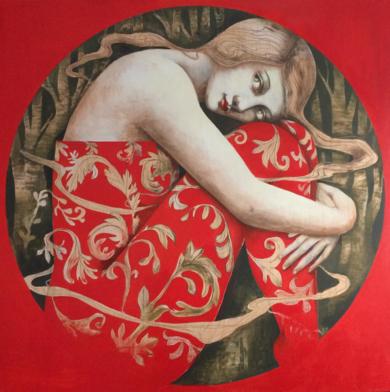 Como un sueño II|DibujodeMenchu Uroz| Compra arte en Flecha.es