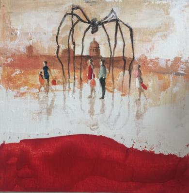 Reflejos urbanos|PinturadeMenchu Uroz| Compra arte en Flecha.es