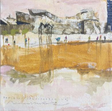 Reflejos urbanos II|DibujodeMenchu Uroz| Compra arte en Flecha.es