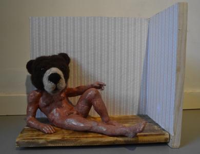 Let me be your teddy Bear|EsculturadeJoan Priego| Compra arte en Flecha.es