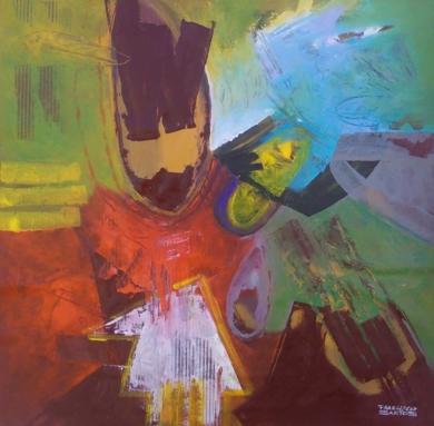 The Last Flight|PinturadeFrancisco Santos| Compra arte en Flecha.es