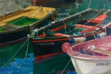 Reflejos|PinturadeEnrique Pazos| Compra arte en Flecha.es