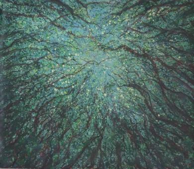 El espíritu del bosque|PinturadeFernando T. de la Rocha| Compra arte en Flecha.es