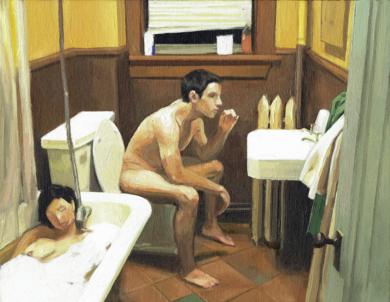 Baño II|PinturadePablo Colomo| Compra arte en Flecha.es