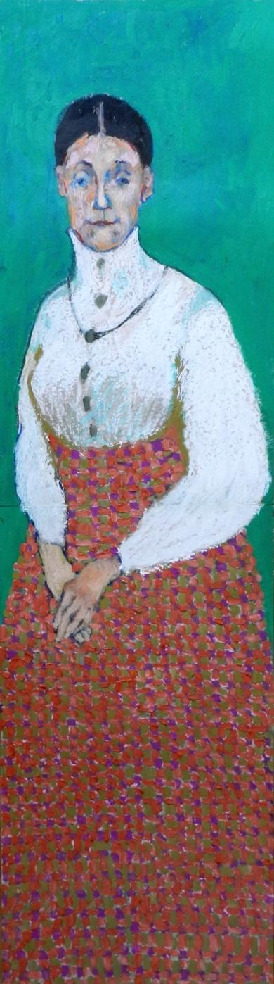Escocesa|PinturadeSara Chamón| Compra arte en Flecha.es