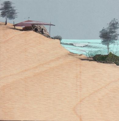 La casa de la roca|DibujodeEduardo Query| Compra arte en Flecha.es