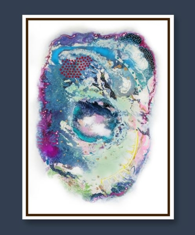 UNIVERSE ON MY MIND|PinturadeKAI NANSHE| Compra arte en Flecha.es