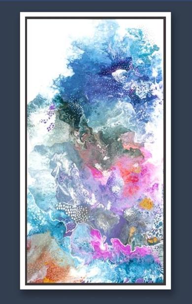 NORTHERN LIGHTS|PinturadeKAI NANSHE| Compra arte en Flecha.es