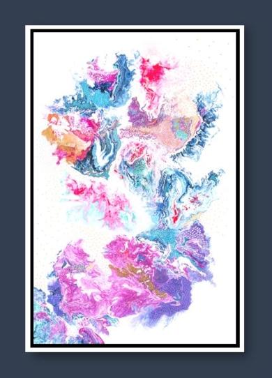 WHITE INFUSION|PinturadeKAI NANSHE| Compra arte en Flecha.es