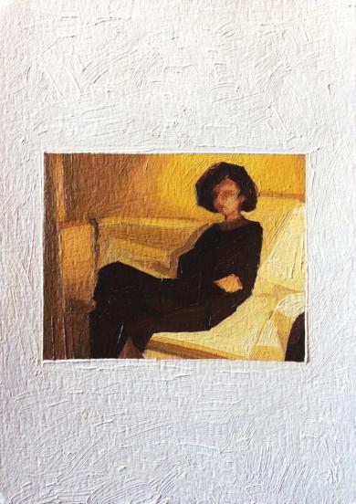 Retrato Nocturno II|PinturadePablo Colomo| Compra arte en Flecha.es