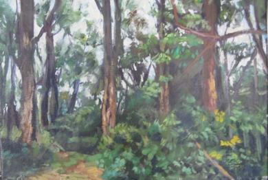 serie de bosques , los Apalaches|Pinturadejose luis fernandez sanchez| Compra arte en Flecha.es