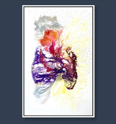 SONORAMA|PinturadeKAI NANSHE| Compra arte en Flecha.es