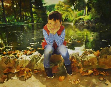 CAPRICHO|PinturadeENRIQUE RAGEL| Compra arte en Flecha.es