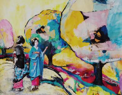 Diálogo|CollagedeANA  SOLER   FERNÁNDEZ| Compra arte en Flecha.es