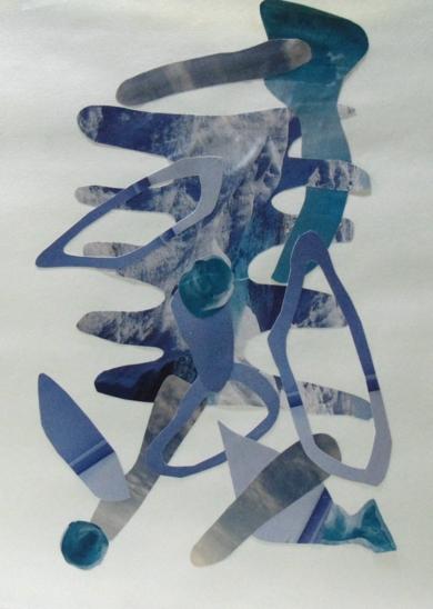 Mapografia aerea|CollagedeFabiana Zapata| Compra arte en Flecha.es