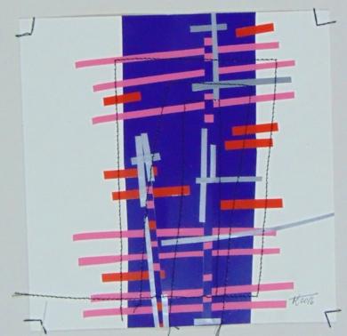 No pixel morao|CollagedeFabiana Zapata| Compra arte en Flecha.es