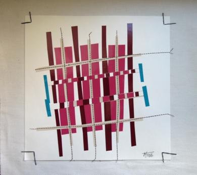 No pixel magenta|CollagedeFabiana Zapata| Compra arte en Flecha.es