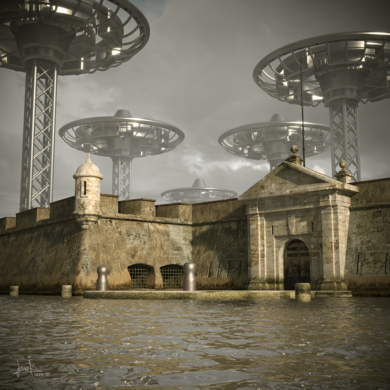 Pasado y futuro|DigitaldeJavier Bueno| Compra arte en Flecha.es
