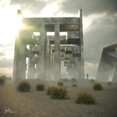 Última frontera (Declive)|DigitaldeJavier Bueno| Compra arte en Flecha.es