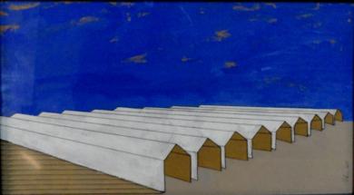 Naves|PinturadeAna Pellón| Compra arte en Flecha.es