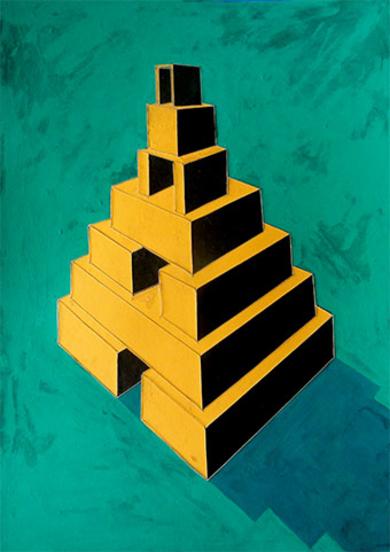Babel III|PinturadeAna Pellón| Compra arte en Flecha.es