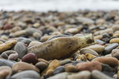 Mensaje en una botella|DigitaldeCruz Mondragón| Compra arte en Flecha.es