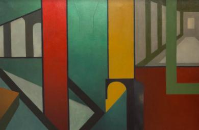 Septeto de otoño|PinturadeVerónica B. Loring| Compra arte en Flecha.es