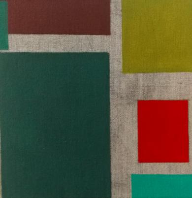 Cromatismo geométrico I|PinturadeVerónica Bustamante Loring| Compra arte en Flecha.es