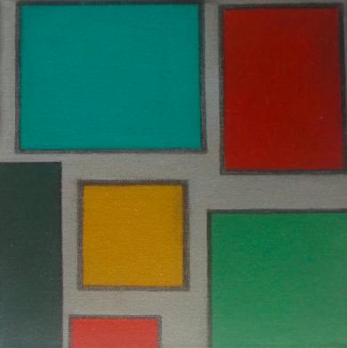Cromatismo geométrico VI|PinturadeVerónica Bustamante Loring| Compra arte en Flecha.es