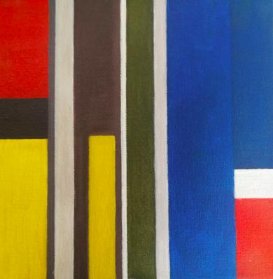 Cromatismo geométrico VIII|PinturadeVerónica Bustamante Loring| Compra arte en Flecha.es